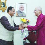 Chief Minister Rupana greeted Governor Kohli on birthday