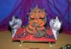 New collegewadi ka raja came to the devotees in the garden;
