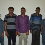 Foreign connections of five persons involved in the International Drugs Scam opened