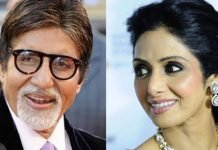 How did Amitabh know about Sridevi's death