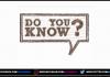 Do You Know | Abtak Media