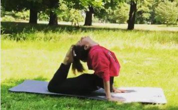 kangna ranout | yoga